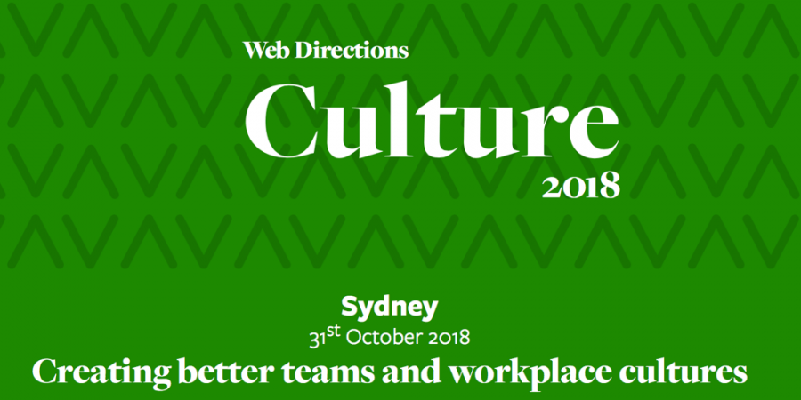Web Directions Culture
